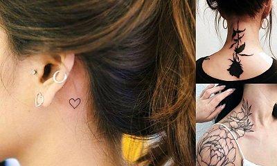 Tatuaż w okolicy szyi - galeria ślicznych wzorów z sieci