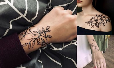 Tatuaże inspirowane naturą - galeria rewelacyjnych wzorów dla dziewczyn