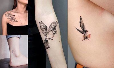 Tatuaże ptaki - kilkanaście wyjątkowych wzorów