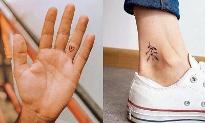 Małe tatuaże - top 20 najciekawszych projektów
