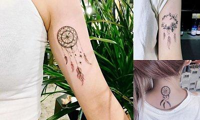 Tatuaż łapacz snów - galeria wyjątkowych wzorów dla kobiet