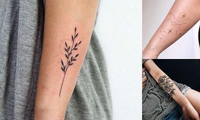 Tatuaż na przedramię - 20 przepięknych kobiecych wzorów