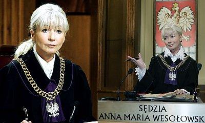 Sędzia Anna Maria Wesołowska ma już 66 lat! Zobaczcie, jak teraz wygląda!