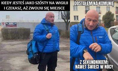 Marcin Najman był bohaterem memów! Teraz oddał tę niebieską kurtkę na WOŚP!