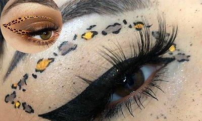 Zmysłowe makijaże ze zwierzęcymi cętkami!