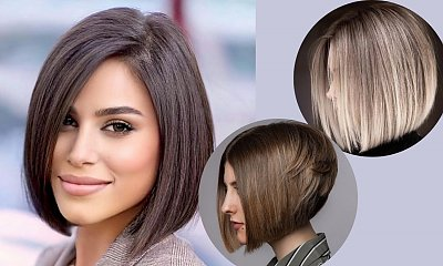 Angled bob - ponętna fryzura, która nieustannie podbija trendy!