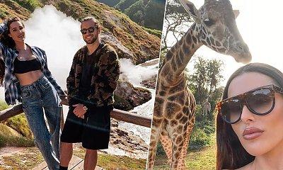 Krychowiak z żoną w luksusowym hotelu. Jedli śniadanie z żyrafami. Ile za noc? Bajońska suma!