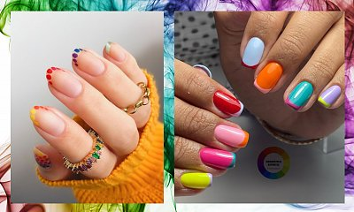 Multicolor Nails - radosny trend na nadchodzący sezon