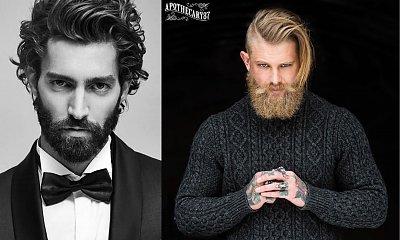 Najmodniejsze męskie fryzury na półdługich włosach - trendy 2021