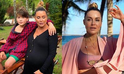 Małgorzata Rozenek w kostiumie 30 kg grubsza - po porodzie! Zdradziła 3 rzeczy, dzięki którym schudła