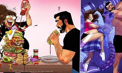 15 ilustracji, które pokazują szczerą prawdę o ciąży. Lepiej nie dało się tego ująć!