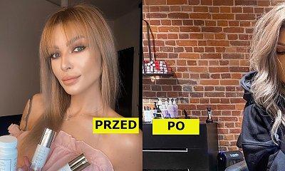 Anna Ryśnik ufarbowała włosy na ice blond i zrezygnowała z grzywki! Powód zaskakuje