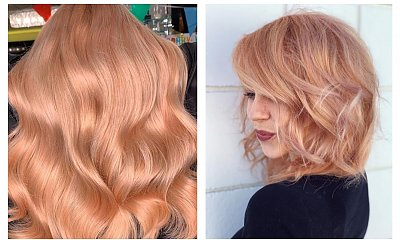 Strawberry blonde - sposób na ciekawe urozmaicenie jasnych włosów