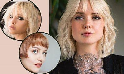 Blond bob z grzywką - 5 pomysłów na zmysłową i modną fryzurę