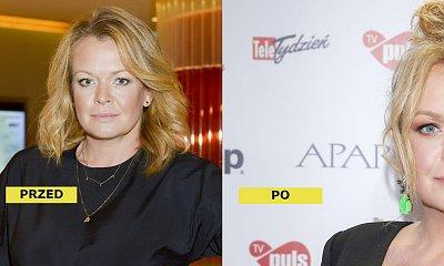 Daria Widawska w nowej fryzurze na Telekamerach 2021! Głęboki dekolt podkreślił jej kobiece kształty