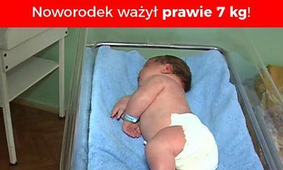 Gdy się urodził, ważył prawie 7 kg! Jak dziś wygląda największy noworodek z Ukrainy?