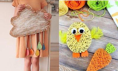 Wiosenne prace plastyczne - 20 pomysłów na proste prace plastyczne dla dzieci