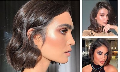 Brown bob - trendy strzyżenie i intensywny kolor