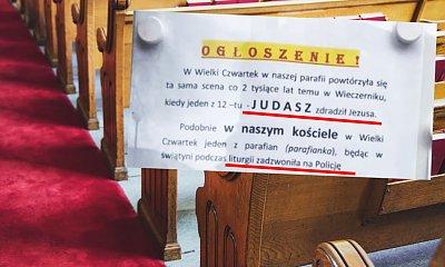 """""""Judasz w Kościele"""" - ksiądz wyzwał wierną i porównał do zdrajcy. Dlaczego to zrobił?"""