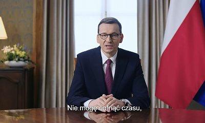 Mateusz Morawiecki przeprasza Polaków i składa wielkanocne życzenia. W sieci zawrzało!