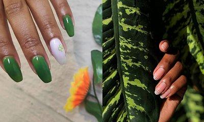 Manicure na wiosnę 2021! Baby blue a może oliwkowa zieleń?