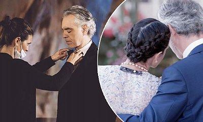 Żona Andrei Bocelliego jest od niego młodsza o 22 lata. Ich początki są szokujące!