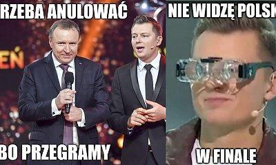 Rafał Brzozowski odpadł z Eurowizji! Internauci tworzą memy!