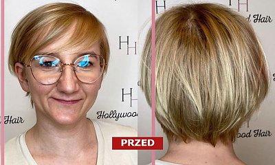 Kobieta przedłużyła włosy i odmłodniała o 15 lat! Wygląda, jak własna córka! Szok, co za metamorfoza!