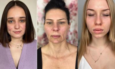 Te kobiety przeszły diametralną metamorfozę. Makijaż odjął im lat i dodał uroku. Zobacz 10, wyjątkowych przemian. SZOK