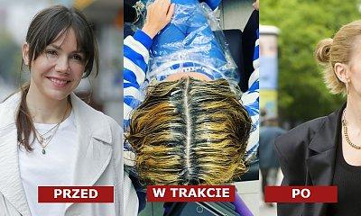 Olga Bołądź ma jasne blond włosy! W trakcie farbowania było tragicznie, a jak jej fryzura prezentuje się teraz?