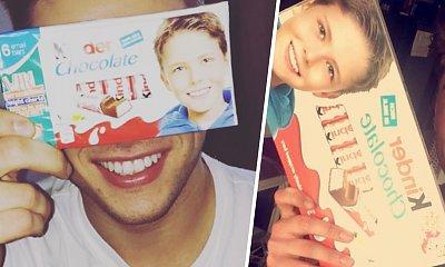 Pamiętacie chłopca z Kinder Chocolate? Josh Bateson ma długie, kręcone włosy i jest nie do poznania!