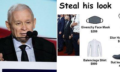 """Jarosław Kaczyński zaliczył wpadkę: Założył dwa różne buty! Powstały MEMY. """"Oba są prawe"""""""