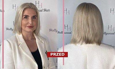 Kobieta w średnim wieku przedłużyła włosy i odmłodniała o 10 lat! Spektakularna metamorfoza!
