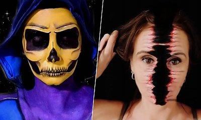 13 makijażowych złudzeń optycznych, które powalają na kolana! Ta dziewczyna ma talent!