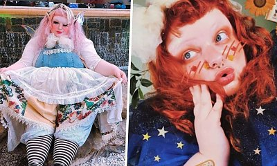 """""""Nie jestem za gruba, żeby być laleczką"""" - w odpowiedzi na nękanie w szkole została żywą lalką!"""