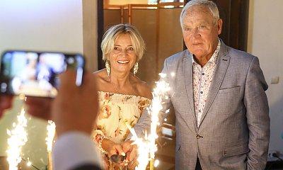 """Gerard Makosz z """"Sanatorium Miłości"""" oświadczył się na swoich urodzinach! 80-latek szaleje z radości"""