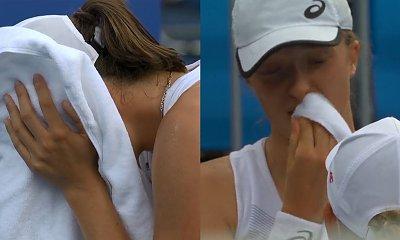 Igrzyska Olimpijskie w Tokio: Iga Świątek odpadła. 20-latka długo płakała po przegranym meczu!