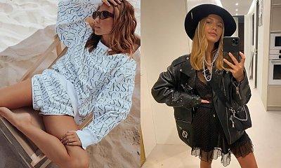 """Julia Wieniawa w czarnej stylówce: """"Ta sukienka to sztos. To będzie hit sezonu. Jest zaje***ta"""" - piszą fani"""