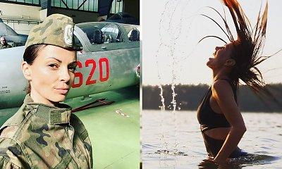 """Katarzyna Glinka w mundurze! """"Co myślicie o takiej wersji mnie?"""""""