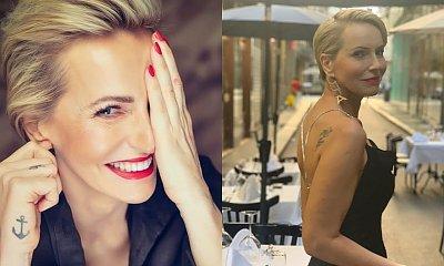 Paulina Smaszcz w bikini! Wiedzieliście, że ma tatuaż na wewnętrznej stronie przedramienia?