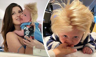 Chłopiec z bujną czuprynką podbija Internet! Przez fryzurę porównywany jest do premiera Wielkiej Brytanii!