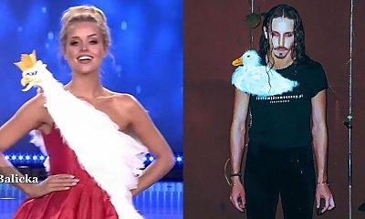 Michał Szpak zażartował z sukienki Miss Polski z Orłem Białym. Jego koszulka z kaczką podbija sieć!