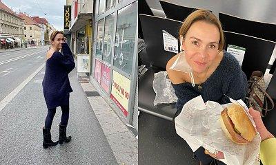 """Olga Bołądź pokazała jedzenie w Austrii. Fani pytają: """"To taki gruby kawałek szynki czy to pasztet?"""""""