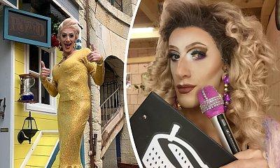 """Polska drag queen gwiazdą programu """"Fort Boyard""""! Kim jest Papina McQueen? [TYLKO U NAS]"""