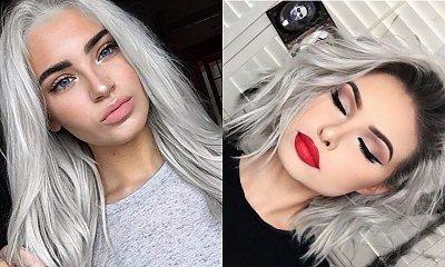 Popielaty blond - zmysłowa i odważna koloryzacja