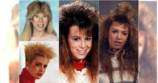 Szalone lata 80. Pamiętacie te fryzury? Kto nie uległ tej ...