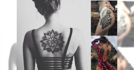 Kobiece Zmysłowe Hipnotyzujące Tatuaże Dla Kobiet