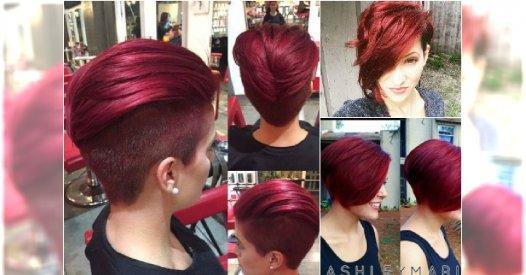 Krótkie fryzury w modnych odcieniach rudości. 20 super propozycji na jesień!