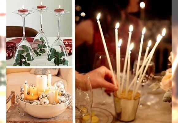 32 Pomysły Na świecznik Bożonarodzeniowy Stroik Na Stół