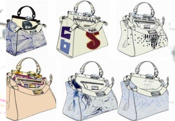 caa502235dcc4 Peekaboo bag w rękach gwiazd - Fendi charytatywnie